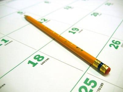 Kalender met potlood-FreeImages-MPCaissy