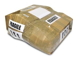 Fragiel postpakker freeimages.com/Richard Dudley